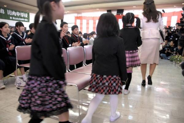 1503_12入学式の新1年生