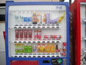 2011年3月11日の自動販売機