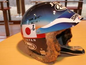 1987風間さんのヘルメット