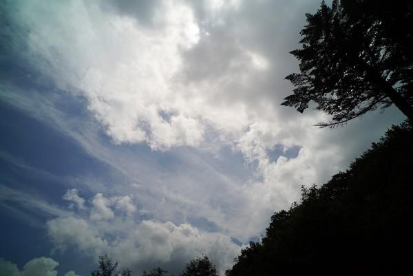 2015秋近い夏の空