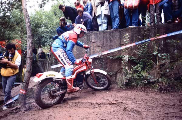1985年のミショーの走り