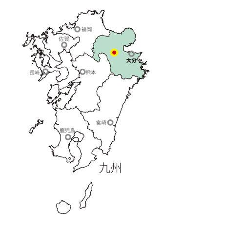 1608玖珠地図