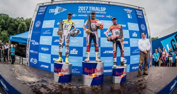 2017フランスGP表彰台