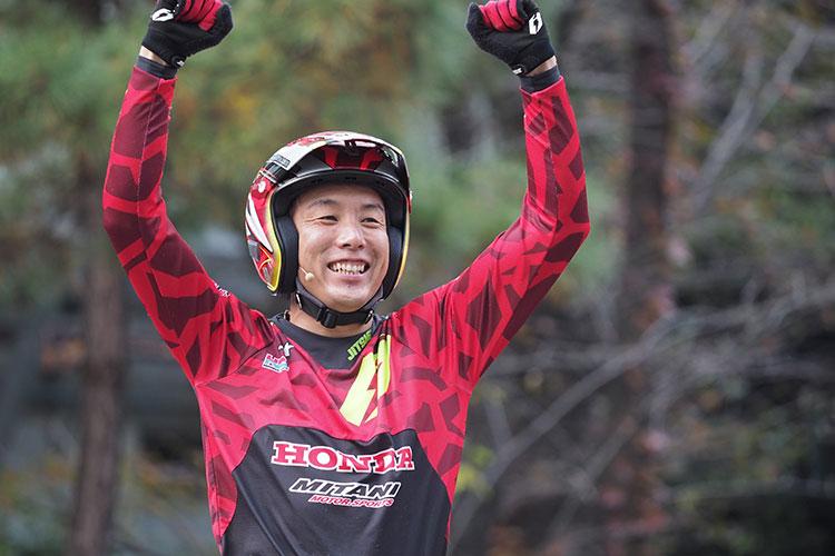Honda秋の祭典トライアルデモの小川友幸