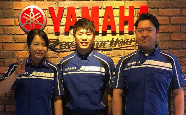 Victoryヤマハチーム3選手