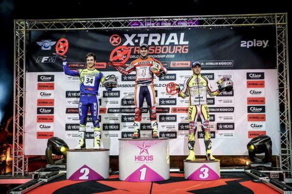 2018Xトライアル第4戦表彰台