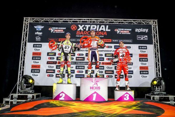 2018Xバルセロナ表彰台