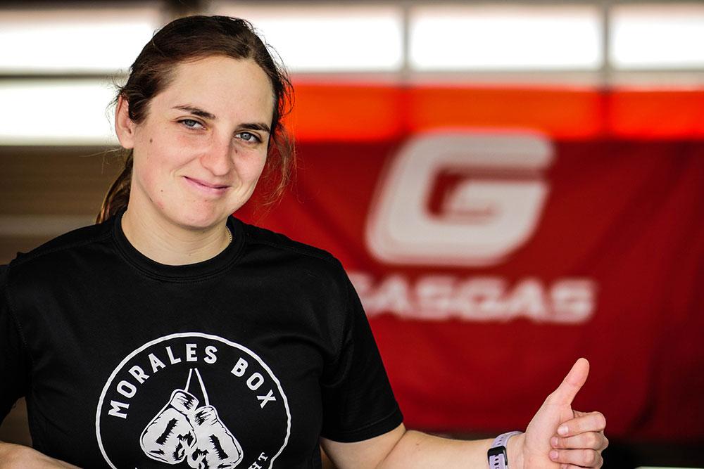 予選1位のサンドラ・ゴメス