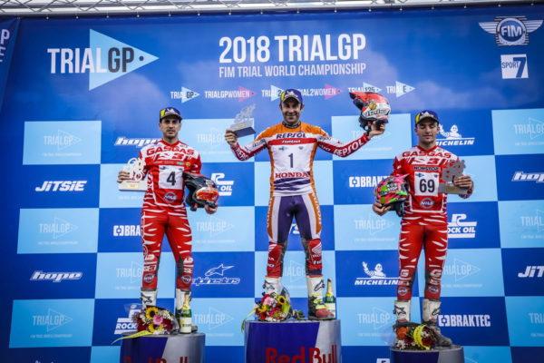 2018フランスGP表彰式