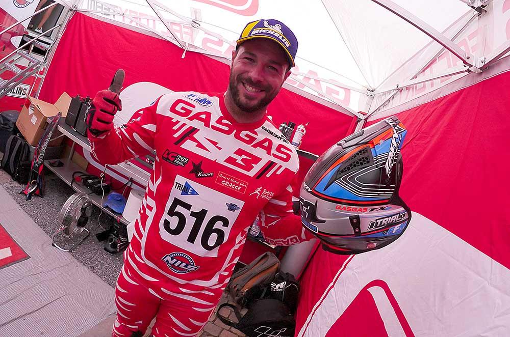 嬉しい世界チャンピオン獲得。ロリス・グビアン