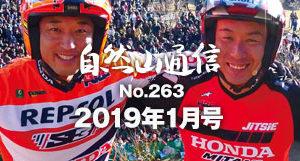 自然山通信2019年1月号表紙