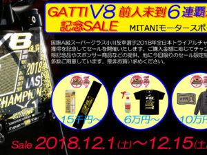 GATTI V8セール