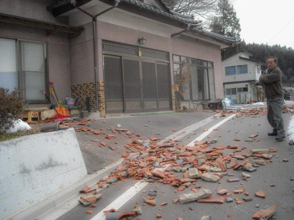 2011年3月11日地震直後
