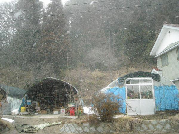2011年3月11日の吹雪