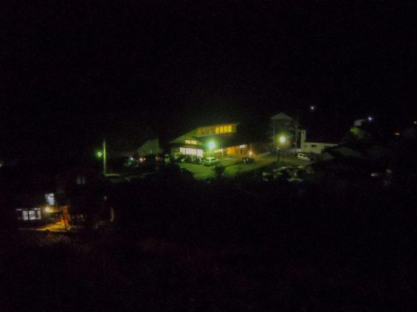 2011年3月12日夜の集会所