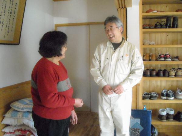 2011年3月13日村長と