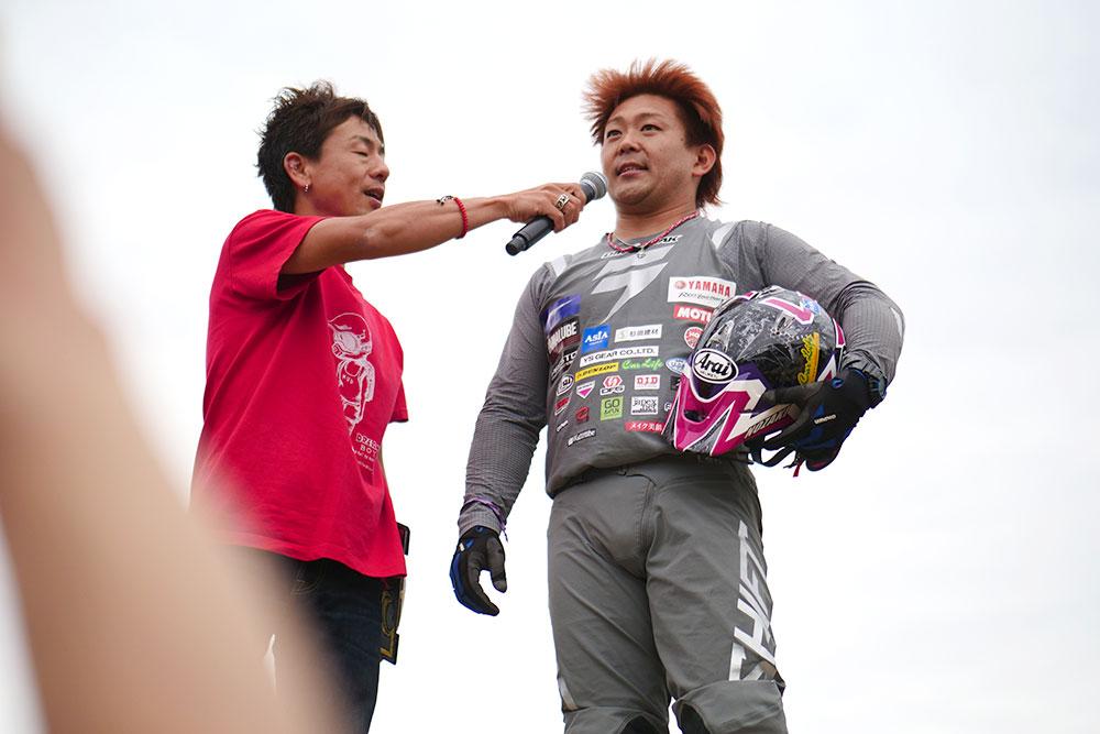 優勝した野崎史高