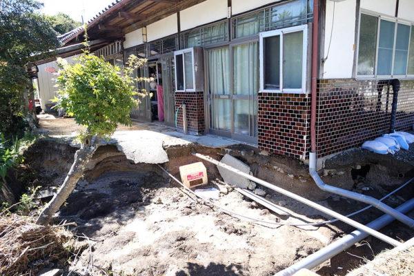 1010台風跡Gさんの家