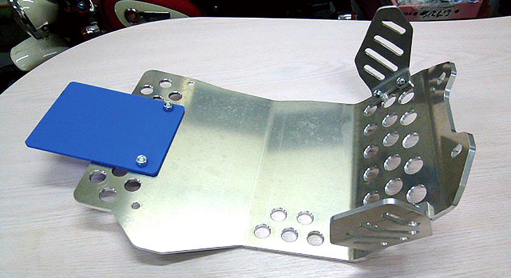 RTL-F/Montesa4RT用ブレーキペダルガード付き強化アンダーガード