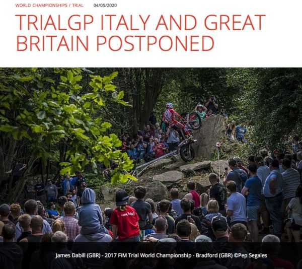 2020年イタリアとイギリスGP延期