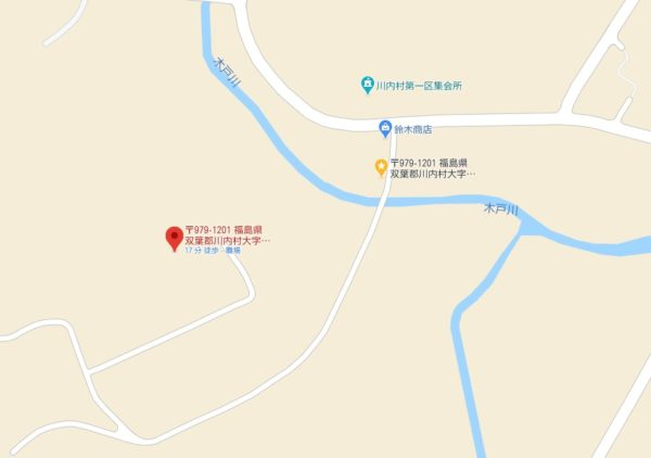 高田島トライアル地図