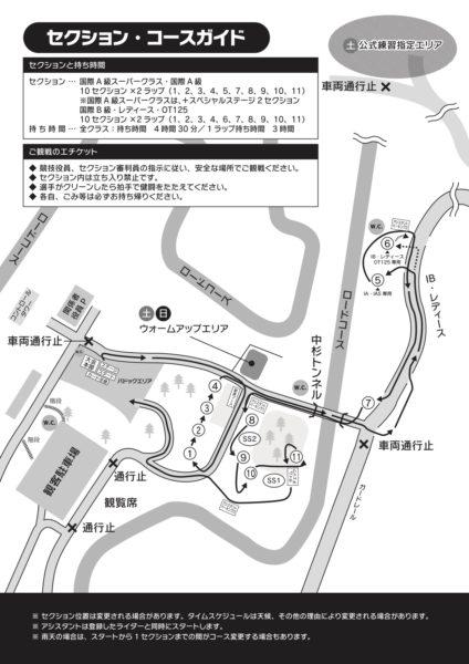 2020全日本SUGOセクションマップ