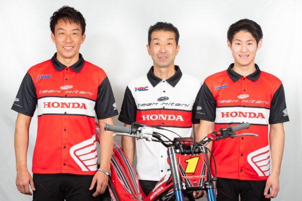 2021年のTEAM MITANI Honda