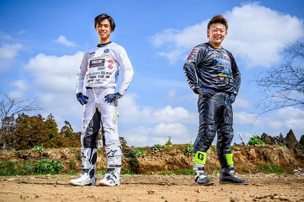 野崎史高(右)と中島漱也(左)