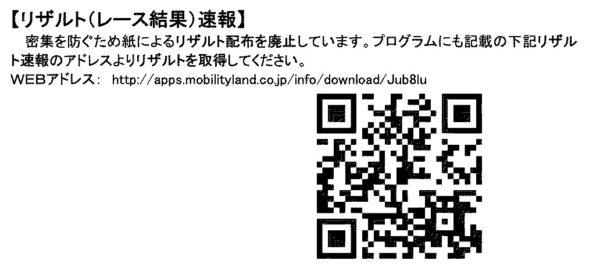 2021全日本もてぎリザルトQR