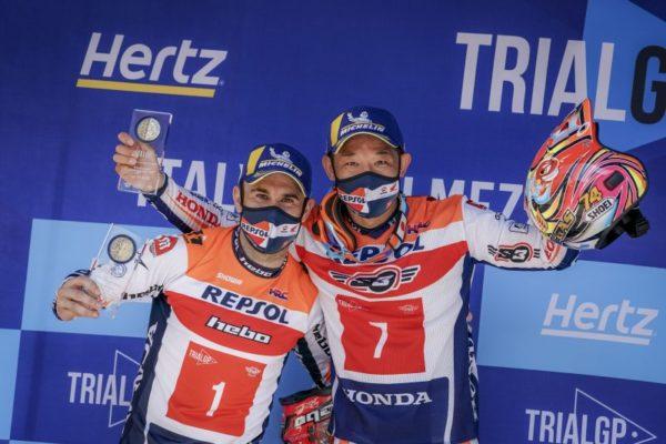 2021WCTイタリアの二人表彰台