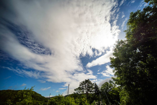 空を撮ってみた