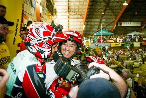 2004年藤波貴久チャンピオン決定の時